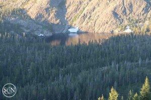 Alpine Lake on the PCT
