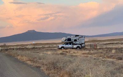 Boondocking near Santa Fe:  Let's Go!