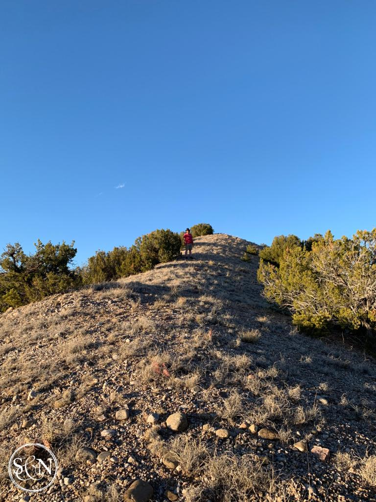 boondocking near Santa Fe