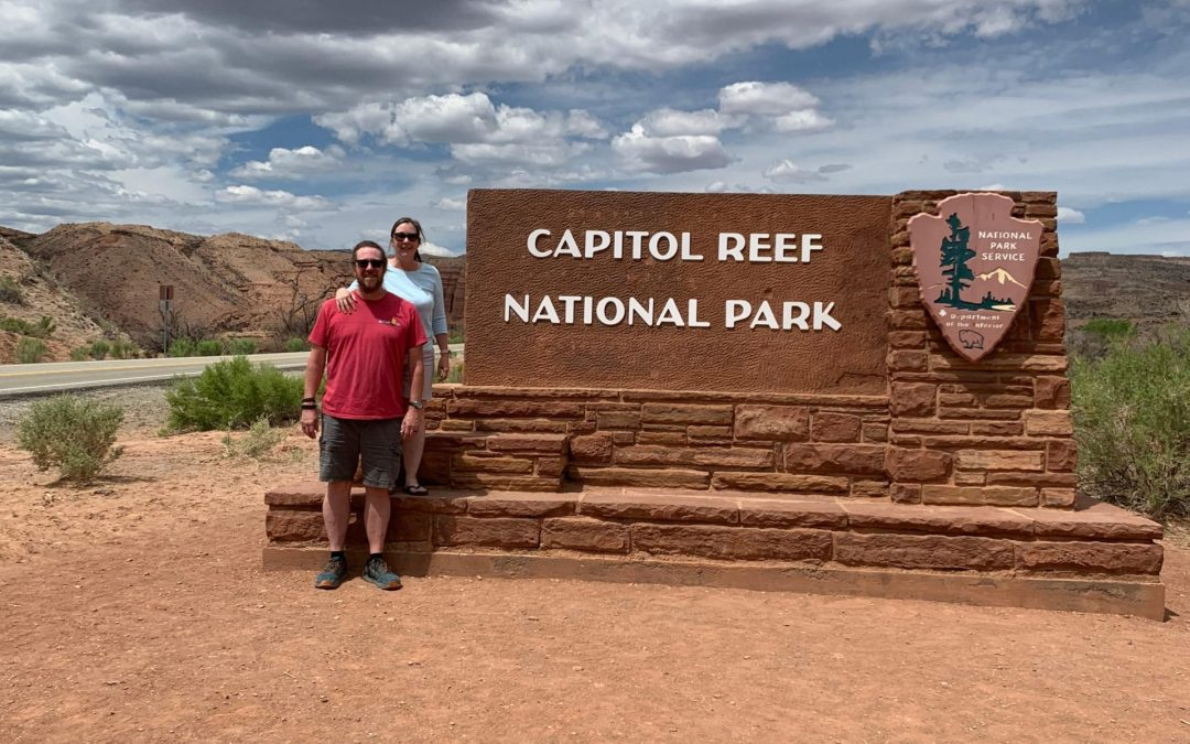 Capitol Reef National Park:  Earth & Sky!