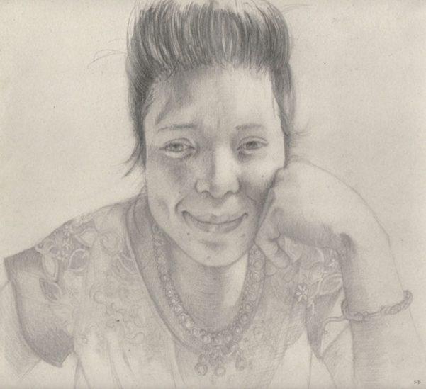 gloria-pencil-portrait-steve-beadle-art