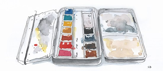 paint-tin-ink-watercolour-stevebeadleart