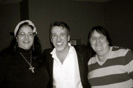 Louise, myself and Peter