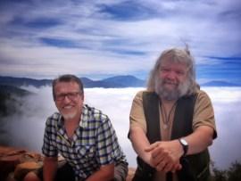 Malcolm and Steve / Lake Arrowhead, CA  June 2013
