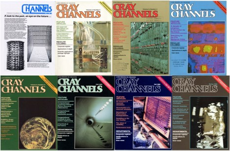 Cray Channels Magazine Covers