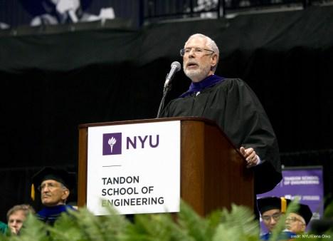 NYU commencement speech