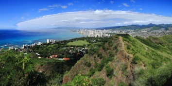 Waikiki Diamond Head Panorama