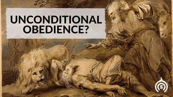Unconditional Obedience