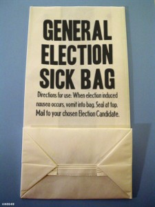 election sick bag
