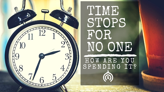 Time stops for no one.