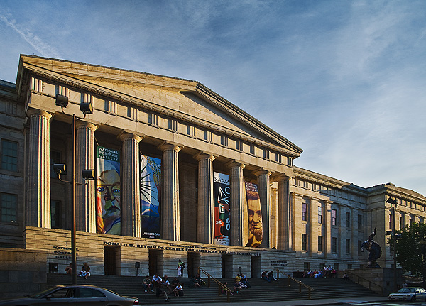National Portrait Gallery / Museum of American Art in Washington DC