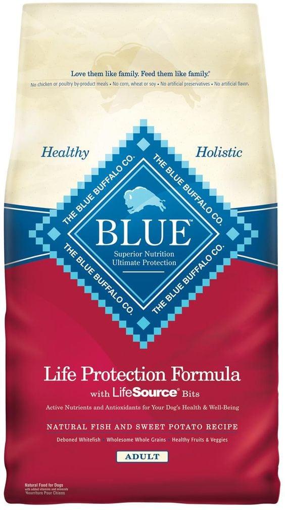 Blue Buffalo is recalling Life Protection Formula Dog Food