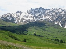 The hike to Schlern. The easy part.