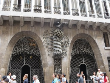 Barcelona: Gaudi House.