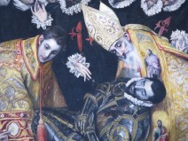 "Toledo, Iglesia de Santo Tomé: El Greco, ""The Burial of the Count of Orgaz."""