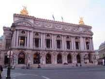 Paris: The Opera House (The Palais Garnier).
