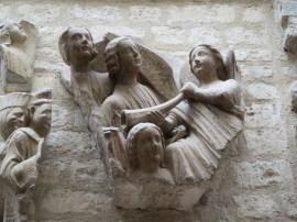 Paris: The Musée national du Moyen Âge. Pieces from Notre-Dame.