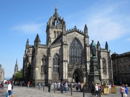 St Gile's Cathedral, The Royal Mile, Edinburgh.