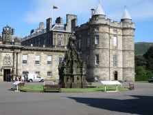 Holyrood Palace (a royal residence), Edinburgh.