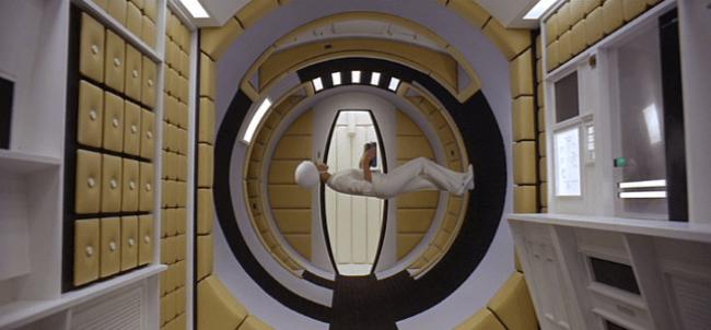 2001-a-space-odyssey-stewardess-walking-on-space-age-velcro