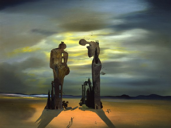 "Archeological Reminiscence of Millet's ""Angelus,"" 1933–35, Salvador Dalí. Photo: © Salvador Dalí/Fundació Gala-Salvador Dali/Artist Rights Society (ARS), 2015"