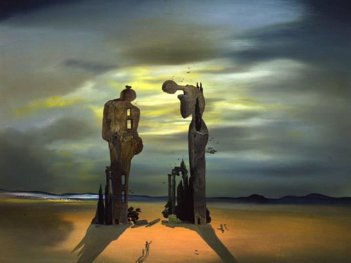 "Archeological Reminiscence of Millet's ""Angelus,"" 1933–35, Salvador Dalí. Photo: © Salvador Dalí/Fundació Gala-Salvador Dali/Artist Rights Society (ARS), 2015"