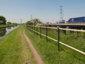 Tame Valley canal & M6 . . . .