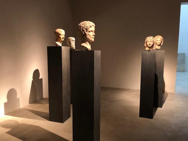Heads of Roman emperors