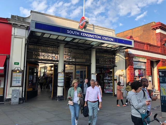 South Kensington subway station