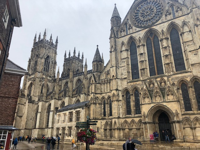 York Minster from the side
