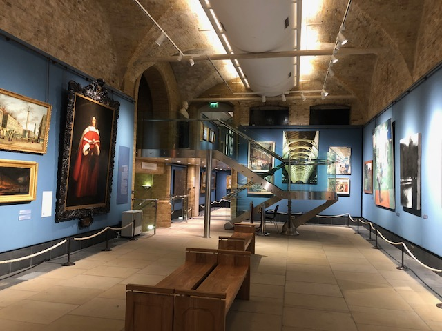 A lower gallery