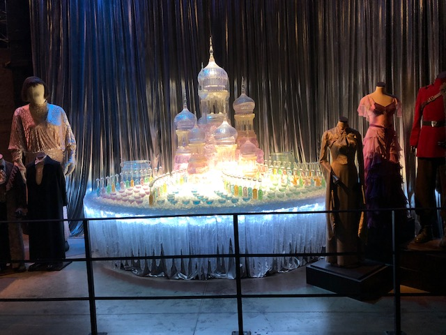 The fountain in the bathroom from Goblet of Fire