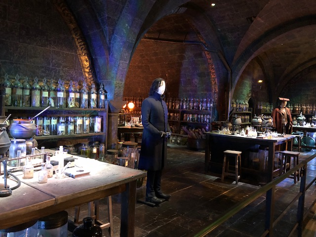 The Potions classroom