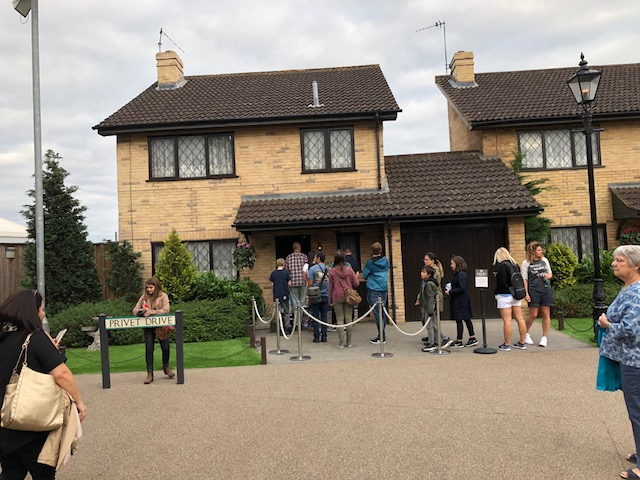 The house on Privet Drive