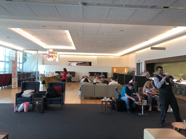 One view of the lounge