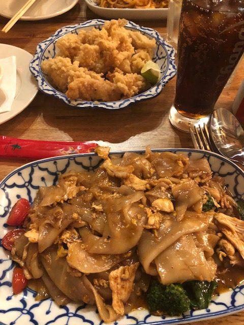 Calamari and Drunken Noodle