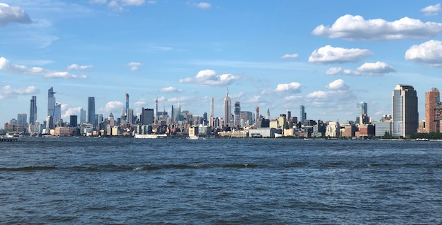 Midtown NYC from Liberty State Park