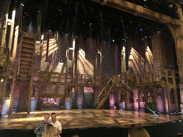 Full stage for Hamilton