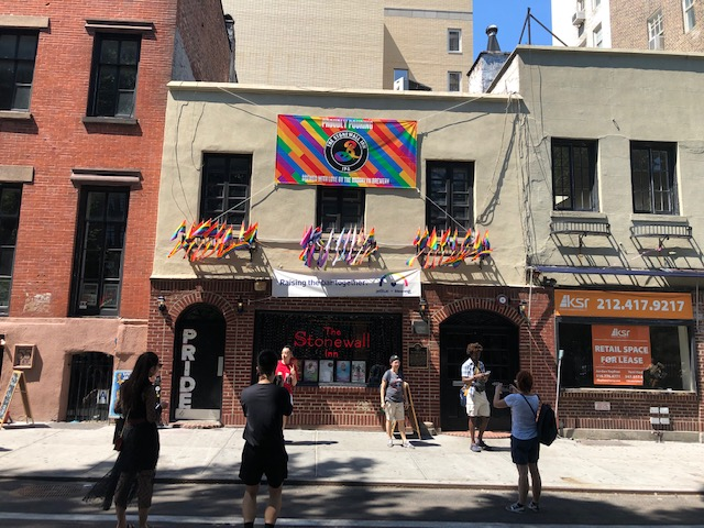 Front of the Stonewall Inn