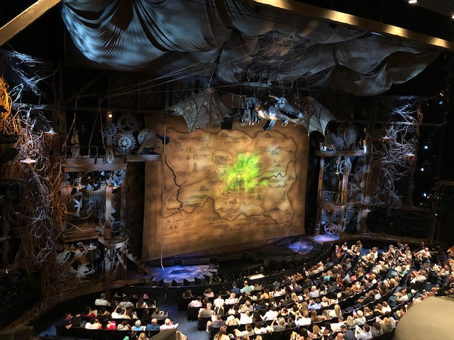 The Wicked Stage, very elaborate, with a dragon of sorts at the top