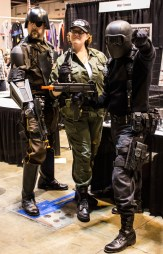 The G.I. Joe booth