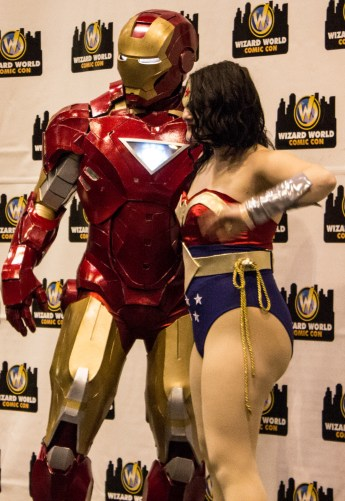 Iron Man and Wonder Woman
