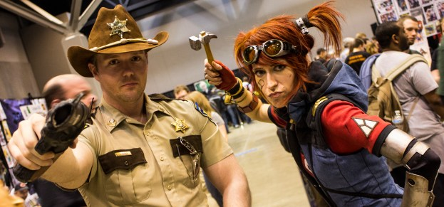 Rick Grimes and Gaige
