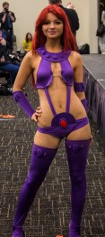 Starfire, from Teen Titans