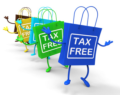 Tax Free Bags Represent Duty Exempt Discounts