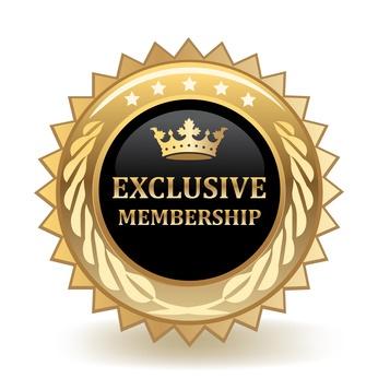 Exclusive Membership Badge