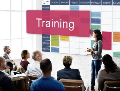 Training Practice Workshop Mentoring Learning Concept