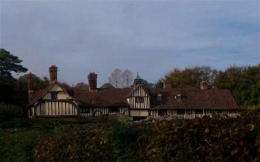 adjacent Tudor cottages