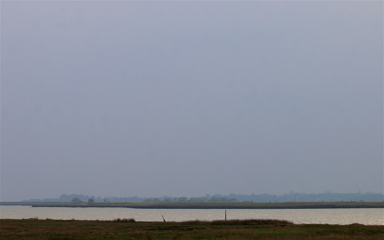 The view south across the Alde estuary
