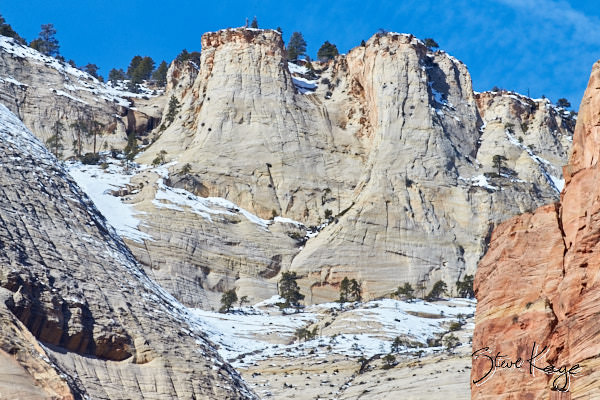 Abraham Peak, Court of the Patriarchs, Zion National Park, (c) Photo by Steve Kaye
